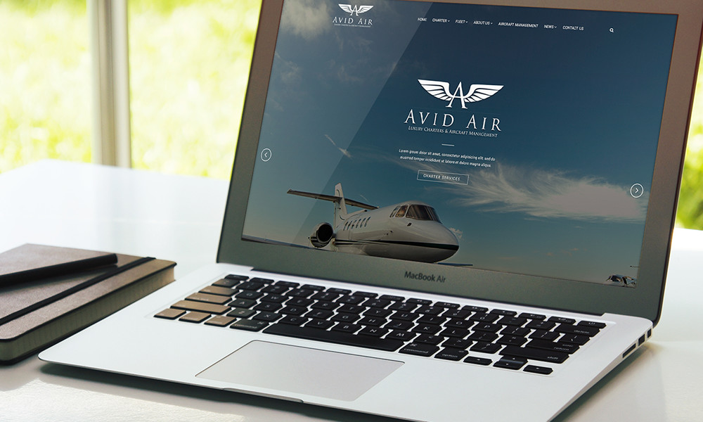 Avid Air Charter Website