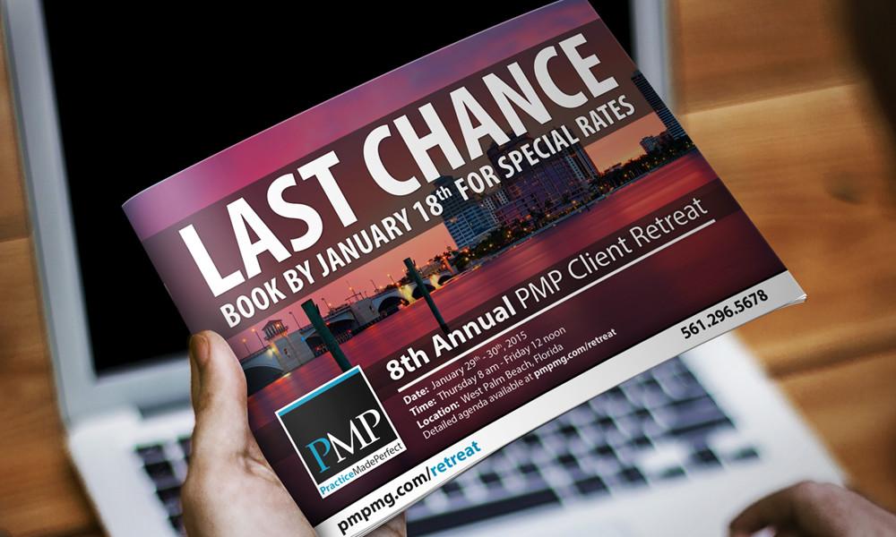 PMP Last Chance Postcard