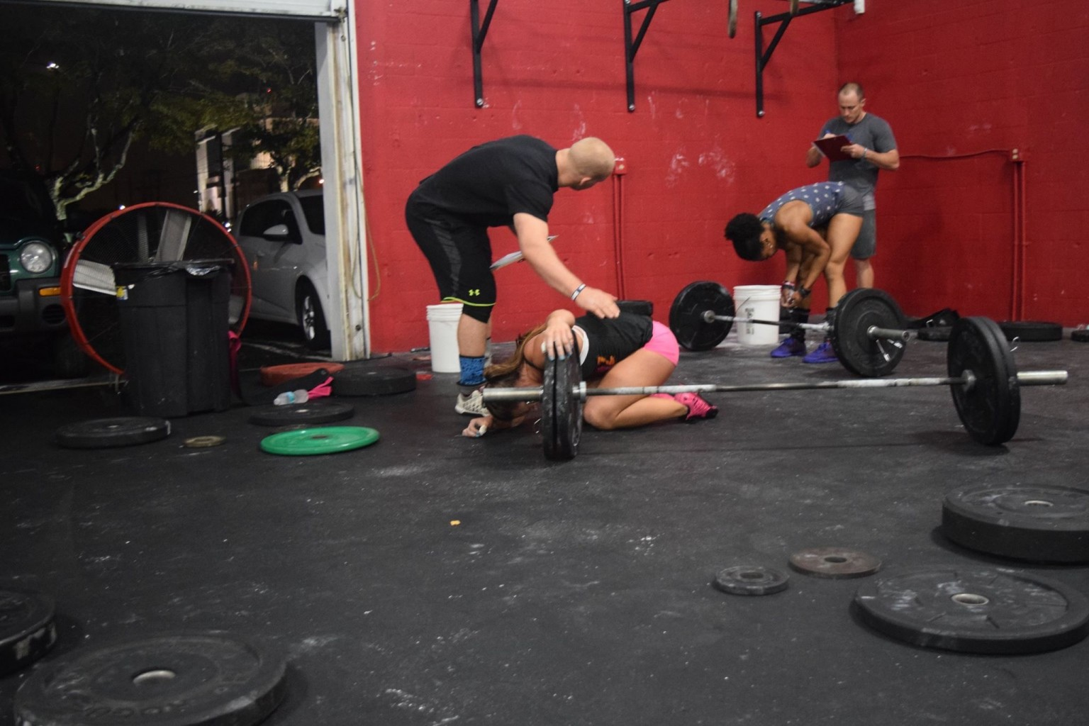 Started the Crossfit Open Last Friday