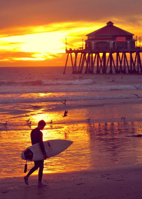 Huntington Beach, California…. Here I Come